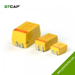 CAK55 Ultra-low ESR Tantalum Solid Electrolytic Chip Capacitors with Conductive Polymer Electrode