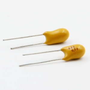 radial lead tantalum capacitor,16V dipped tantalum capacitor,solid tantalum capacitor
