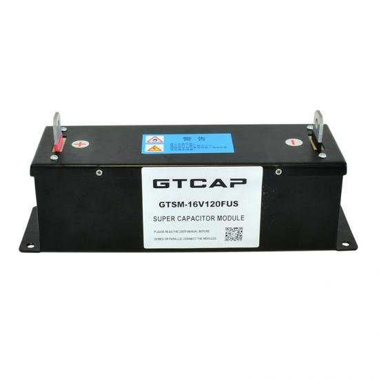 16V 120F Large Current Super Capacitor Battery Module for