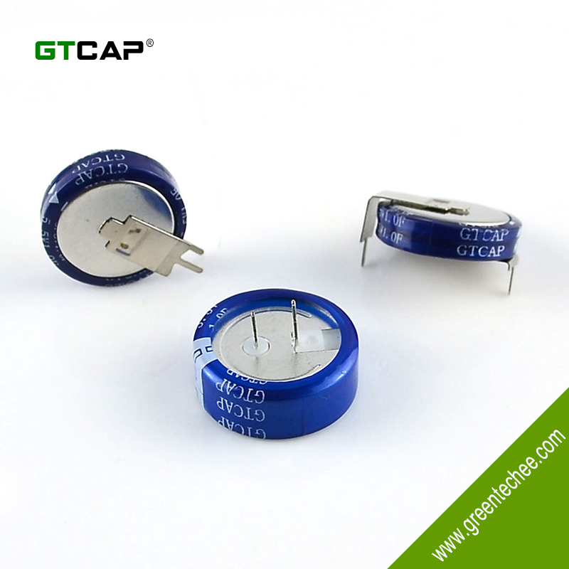 Hi-Temp. Coin Super Capacitor 3.6V