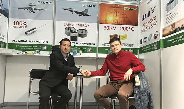 Green Tech Achieved Great Success in Electronica 2017 Moscow, Russia