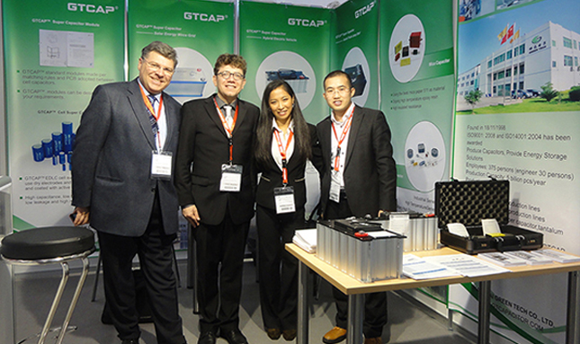 Green Tech Attened Electronica 2016 Munich in Germany